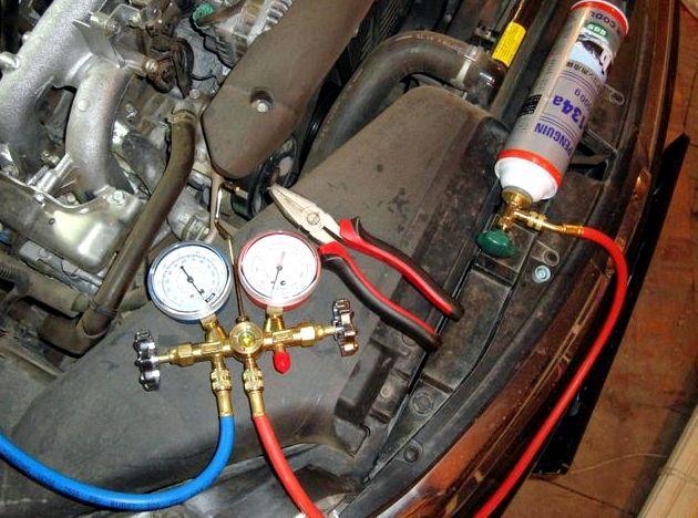 Форд фокус 2 ремонт компрессора кондиционера установка ресивера-осушителя         Вам потребуются