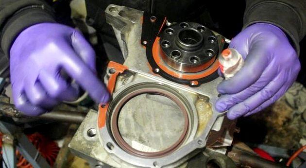 Форд фокус 2 замена сальника коленвала Замена нения масляного картера