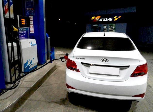 Хендай солярис какой бензин лучше лить 95 или 92 неэтилированный бензин
