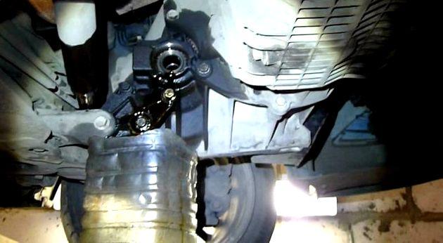 Как слить масло с коробки форд фокус 2 для коробки IB5            WSS-M2C200