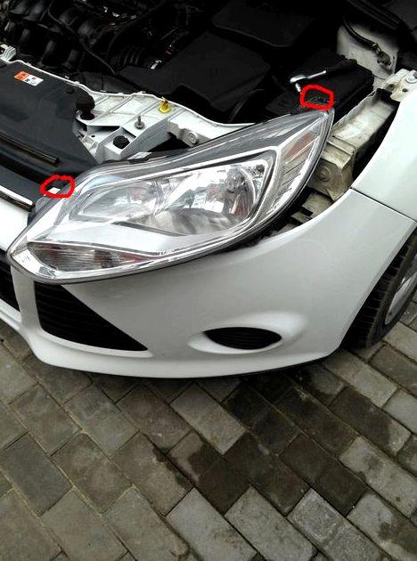 Как заменить лампу ближнего света на форд фокус 3 советую посмотреть