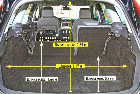 Объем багажника опель астра универсал Ходовые технические характеристики Opel Astra