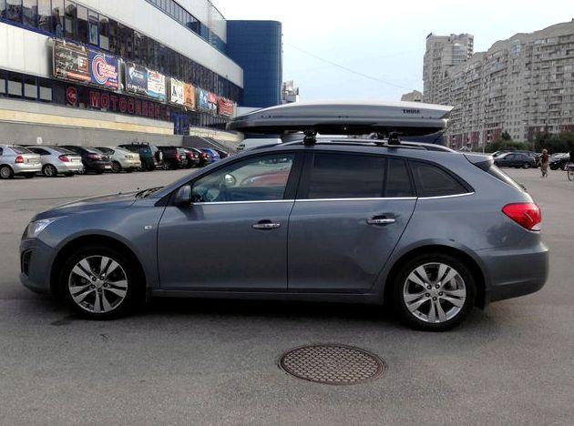 Объем багажника шевроле круз седан 1558 мм соответственно            Объем