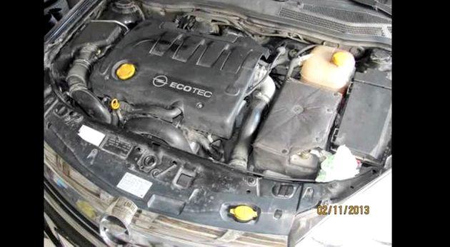 Opel astra h замена масла Не сливайте отработанное масло на