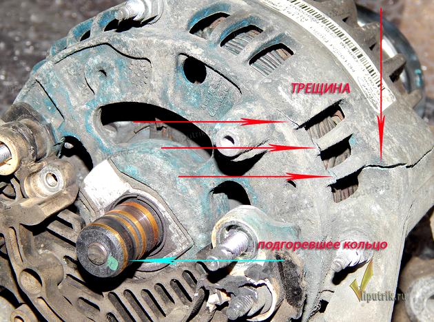 Ремонт генератора своими руками на акцент фото 599