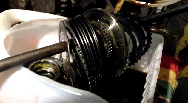 Ремонт муфты полного привода киа спортейдж 2 своими руками стесывание задней части кольца