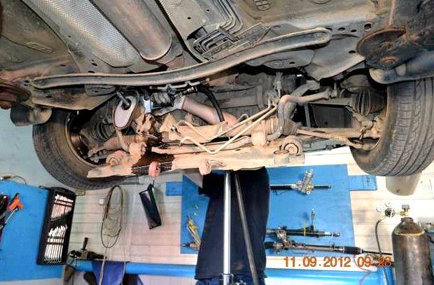 Ремонт рулевой рейки форд фокус 2 рестайлинг если плавно то все