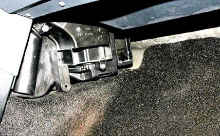 Рено логан где находится воздушный фильтр салона фильтр на