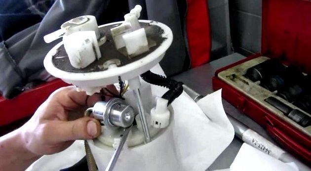 Топливный фильтр киа спортейдж 3 бензин на новый