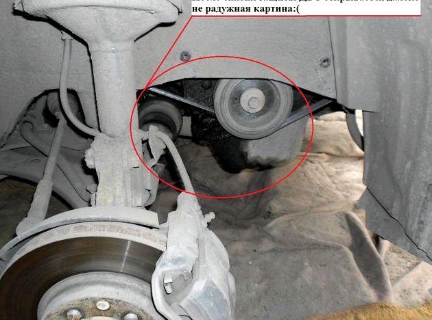 Тойота рав 4 замена грм ремня крепления генератора