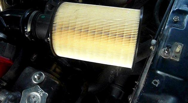 Воздушный фильтр на форд фокус 2 на ваз перед установкой нового