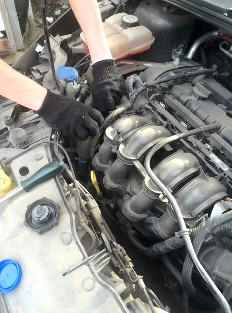 Замена масла своими руками форд фокус 2 Легкость при запуске