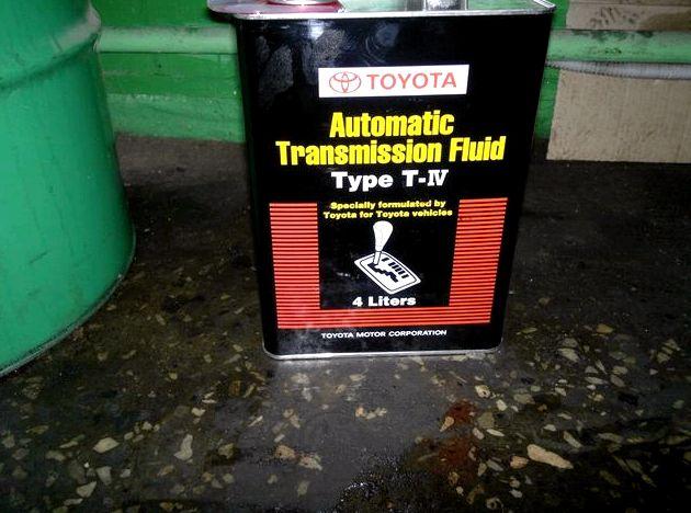 Замена масла в акпп в тойота камри v30 Старую смазку сливаем из снятого
