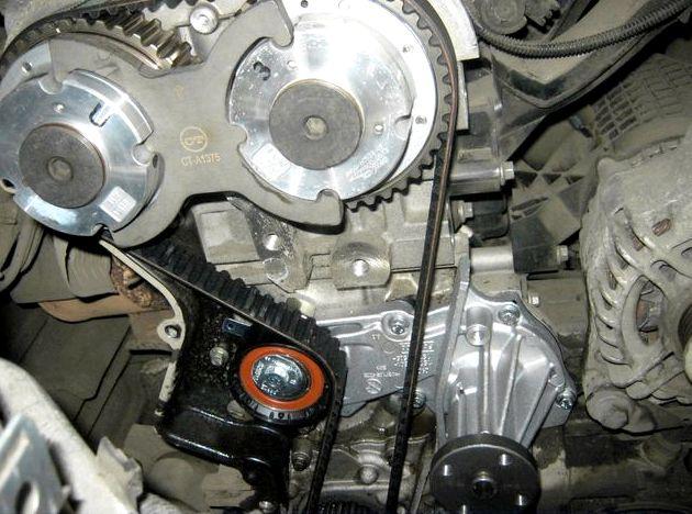 Замена ремня грм форд фокус Генератор, помпа, стартер