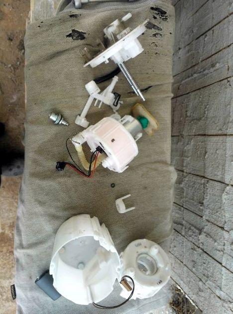 Замена топливного фильтра хендай солярис ставим модуль